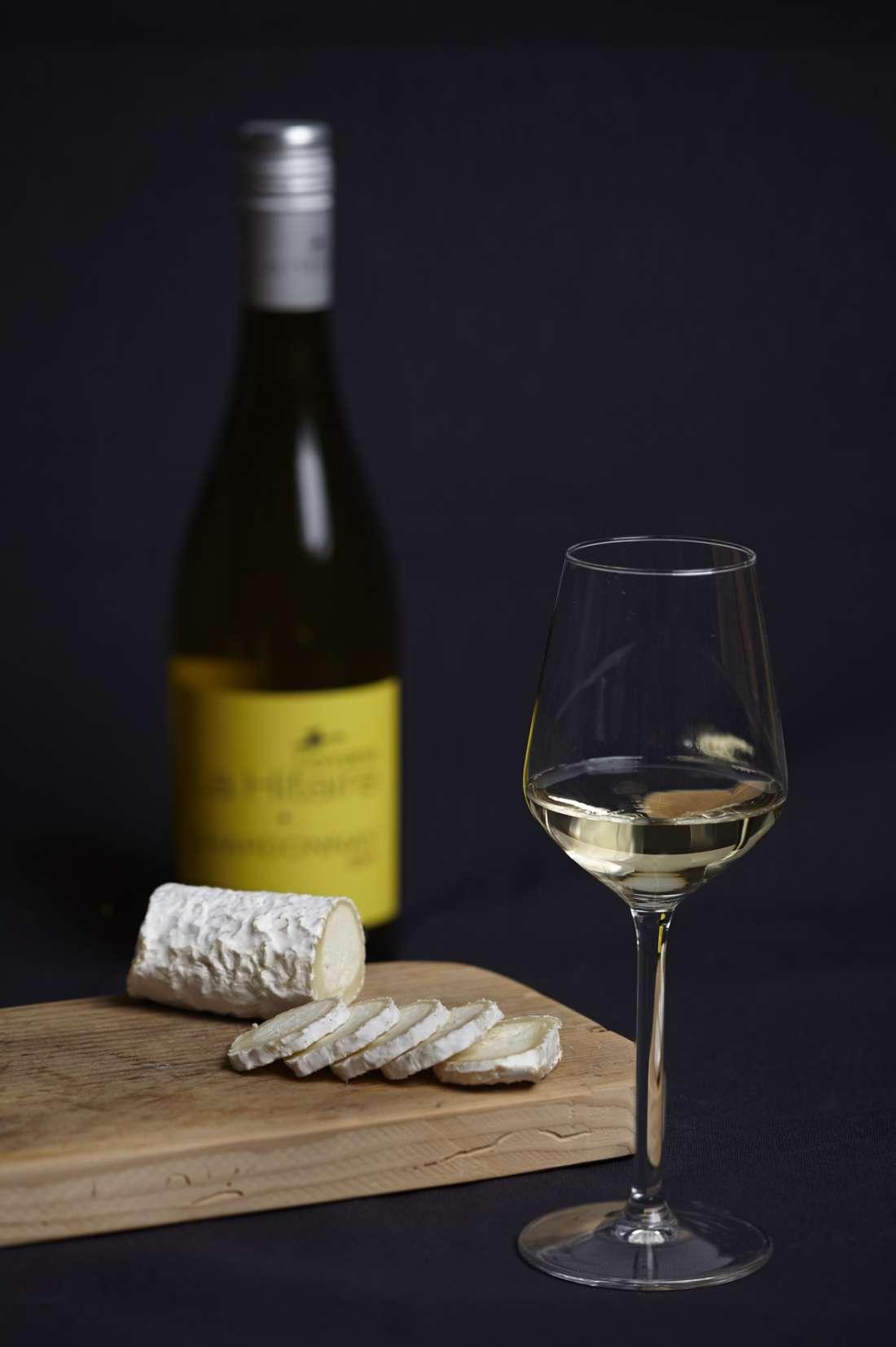 Wijnproeverij thuis geit, Sauvignon blanc