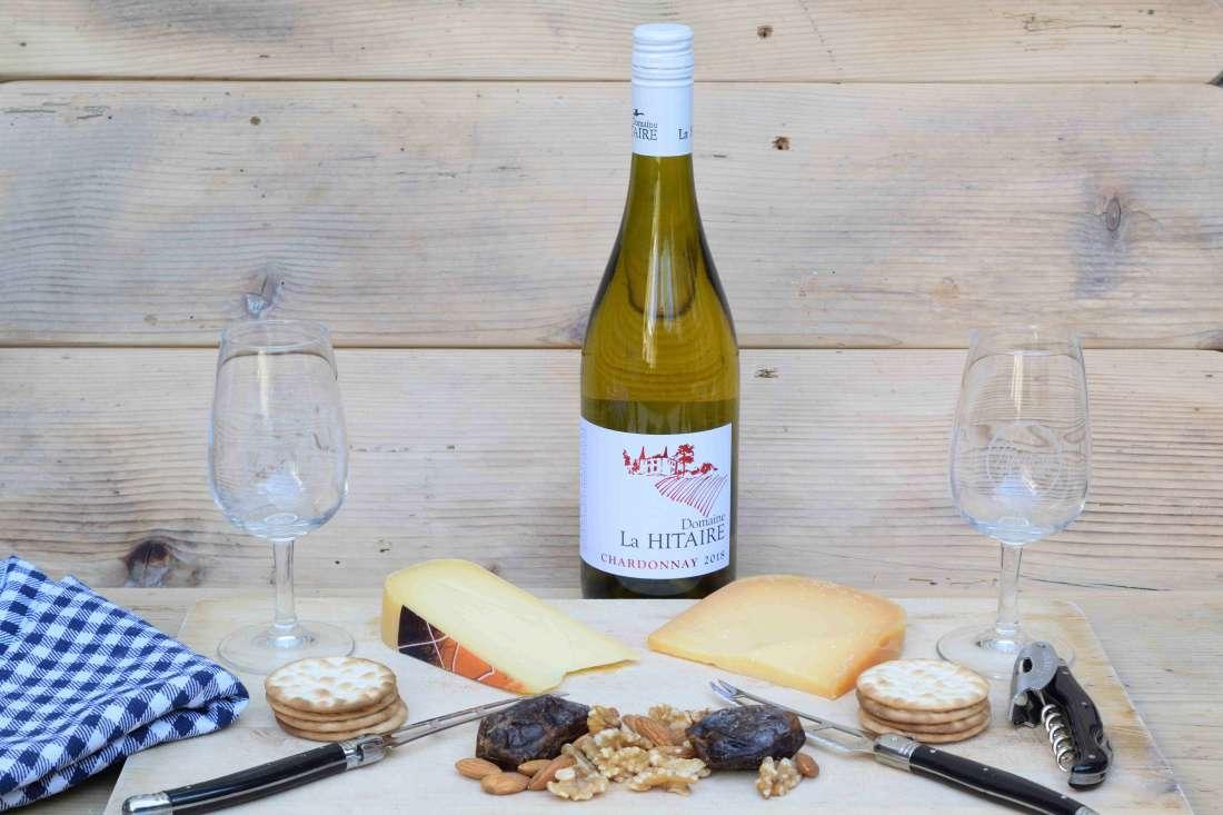Chardonnay/ Roodflora kaas