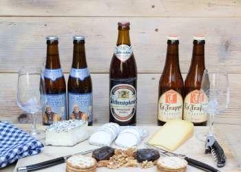 1. Thuisproeverij speciaal bier met zachte kazen